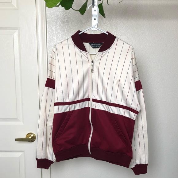 Pierre Cardin Other - Vintage Pierre Cardin Baseball Bomber Jacket